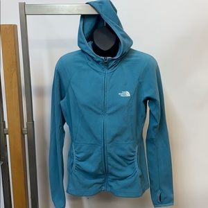The North Face hooded fleece. S